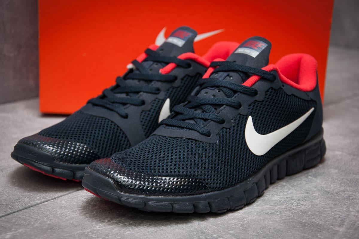 Кроссовки мужские 13302, Nike Free 3.0, темно-синие ( 44 45  )