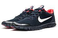 Кроссовки мужские 13302, Nike Free 3.0, темно-синие ( 44 45  ), фото 7