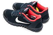 Кроссовки мужские 13302, Nike Free 3.0, темно-синие ( 44 45  ), фото 8