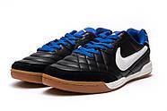 Кроссовки мужские 13951, Nike Tiempo, черные ( 37 38 39 40  ), фото 7
