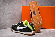 Кроссовки мужские 13963, Nike Tiempo, черные ( 42 43  ), фото 4