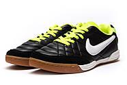 Кроссовки мужские 13963, Nike Tiempo, черные ( 42 43  ), фото 7