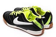 Кроссовки мужские 13963, Nike Tiempo, черные ( 42 43  ), фото 8