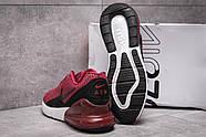 Кроссовки мужские 13972, Nike Air 270, бордовые ( 41 43  ), фото 4