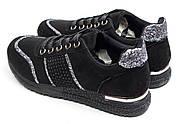 Кроссовки женские 14281, Ideal Black, черные ( 36 37 38  ), фото 8