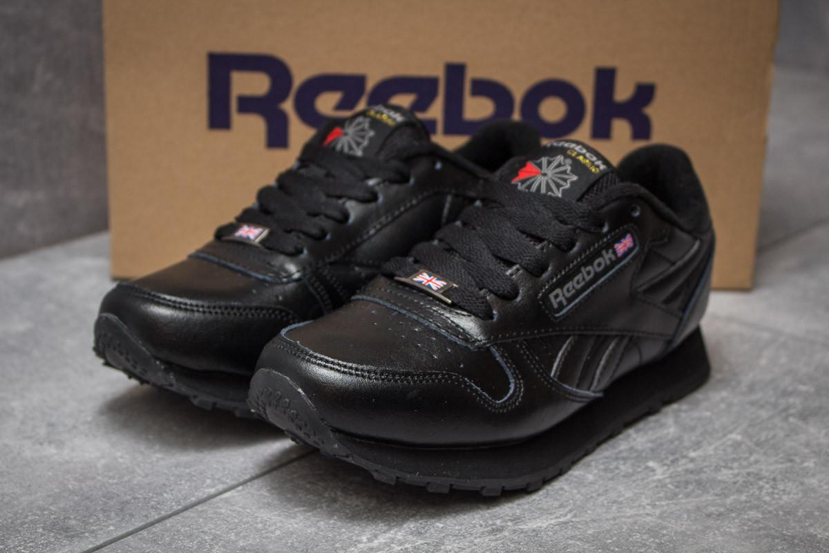 Кроссовки женские 14442, Reebok Classic, черные ( 36  )