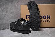 Кроссовки женские 14442, Reebok Classic, черные ( 36  ), фото 4