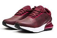 Кроссовки женские 14453, Nike Air 270, бордовые ( 37 40  ), фото 7