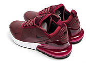 Кроссовки женские 14453, Nike Air 270, бордовые ( 37 40  ), фото 8