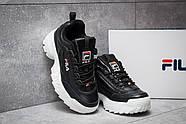 Кроссовки женские 14634, FILA Disruptor, черные ( 37 41  ), фото 3