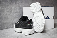 Кроссовки женские 14634, FILA Disruptor, черные ( 37 41  ), фото 4