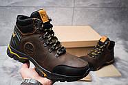 Зимние мужские ботинки 30931, Timberland Pro Series, коричневые ( 40  ), фото 2