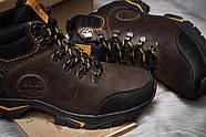 Зимние мужские ботинки 30931, Timberland Pro Series, коричневые ( 40  ), фото 6