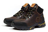 Зимние мужские ботинки 30931, Timberland Pro Series, коричневые ( 40  ), фото 7