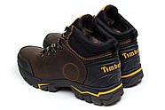 Зимние мужские ботинки 30931, Timberland Pro Series, коричневые ( 40  ), фото 8