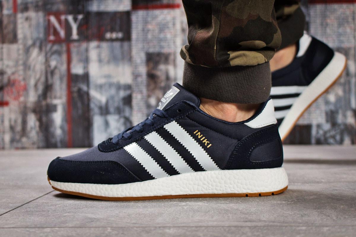 Кроссовки мужские Adidas Iniki, темно-синие (15741) размеры в наличии ► [  45 46  ]