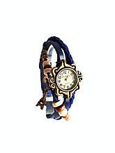 """Часы женские кварцевые """"Париж""""  синие"""