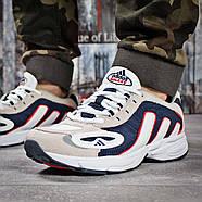 Кроссовки мужские 15913, Adidas Galaxy, бежевые ( 41 43 44 45  ), фото 2