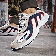 Кроссовки мужские 15913, Adidas Galaxy, бежевые ( 41 43 44 45  ), фото 4