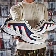 Кроссовки мужские 15913, Adidas Galaxy, бежевые ( 41 43 44 45  ), фото 6