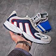 Кроссовки мужские 15913, Adidas Galaxy, бежевые ( 41 43 44 45  ), фото 7