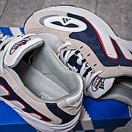 Кроссовки мужские 15913, Adidas Galaxy, бежевые ( 41 43 44 45  ), фото 8