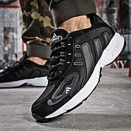 Кроссовки мужские 15915, Adidas Galaxy, черные ( 41 43 44 45 46  ), фото 4