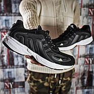 Кроссовки мужские 15915, Adidas Galaxy, черные ( 41 43 44 45 46  ), фото 6
