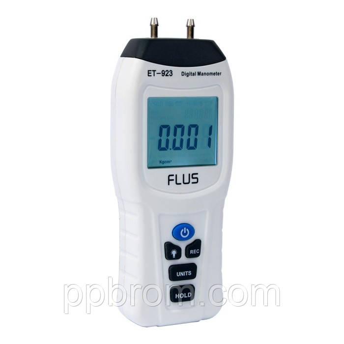 "Дифманометр Flus ""ET-923"" (±2.068 Bar)"