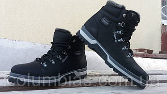 Зимняя кожаная обувь Columbia на меху до - 25 мороза