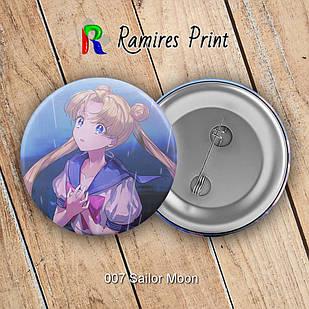 Значок Sailor Moon 007