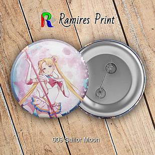 Значок Sailor Moon 009
