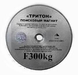 Писковый магнит ТРИТОН F300, односторонний, фото 2