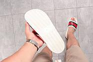 Шлепанцы мужские 16391, Gucci, белые ( 44 45  ), фото 5