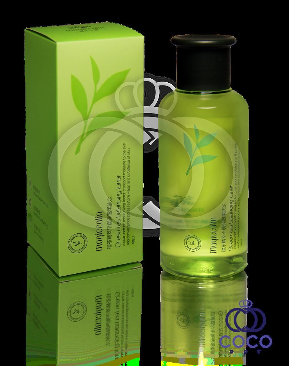 Корейский балансирующий тонер для лица с экстрактом зелёного чая Green Tea Balancing Toner