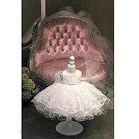 Нарядное пышное платье для девочки на годик Инфанта
