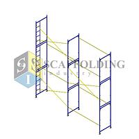 ✅Леса строительные рамного типа  6 х 6 h