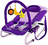 Кресло-шезлонг Caretero Astral Purple, фото 1