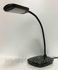 Настільна лампа RIGHT HAUSEN Стандарт LED BEND 6W чорна HN-245172