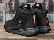 Зимние кроссовки  на меху Supo Sport, черные (30972) размеры в наличии ► [  (последняя пара)  ], фото 4