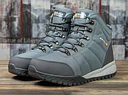 Зимние мужские кроссовки 30982, Kajila Fashion Sport, темно-серые ( 41 42 43 44 45 46  ), фото 2
