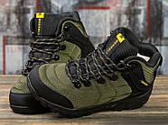 Зимние кроссовки  на меху Merrell Waterproof, хаки (31011) размеры в наличии ► [  (последняя пара)  ], фото 3