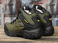 Зимние кроссовки  на меху Merrell Waterproof, хаки (31011) размеры в наличии ► [  (последняя пара)  ], фото 4