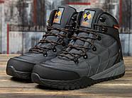 Зимние мужские кроссовки 31021, Columbia, темно-серые ( 41 43  ), фото 2