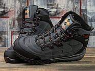Зимние мужские кроссовки 31021, Columbia, темно-серые ( 41 43  ), фото 3