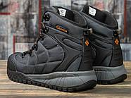 Зимние мужские кроссовки 31021, Columbia, темно-серые ( 41 43  ), фото 4
