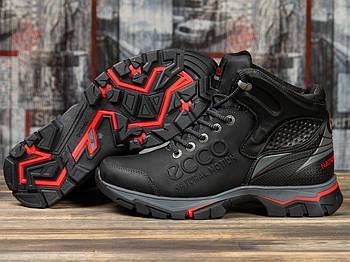 Зимние мужские ботинки 31172, Ecco Natural Motion, черные ( 40  )