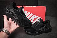 Кроссовки мужские 11442, Nike Huarache Ultra, черные ( 45  ), фото 3