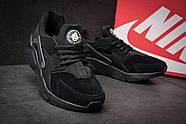Кроссовки мужские 11442, Nike Huarache Ultra, черные ( 45  ), фото 6