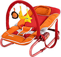Крісло-шезлонг Caretero Astral Red, фото 1